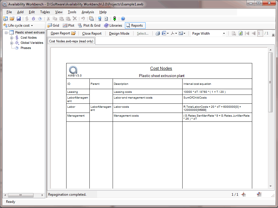 4 Awb Lcc Report Text Opt.png  Cost Analysis Format